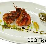 BBQ Tiger Prawns