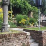 Jardin et terrasse de la brasserie