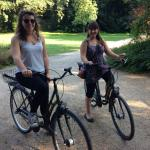 Cycling around the Tiergarten is so much fun!