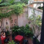 Двор, где можно позавтракать