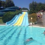 Bella giornata in piscina