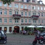 On every postcard of Heidelberg
