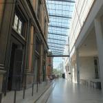 musée ancien et extension moderne...