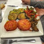 parrillada de verduras , cocido montañés