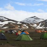 The Tents of Landmannalaugar
