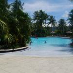 Une des piscine
