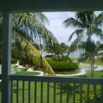 Vu du balcon de la chambre