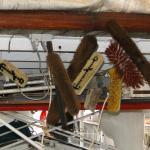 Mercator - Onderhoud van het schip