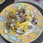 Spaghetti alle vongole (pasta fatta in casa)