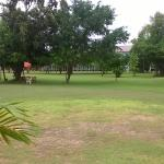 gardens and golf course