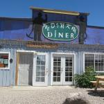 Exterior of the Dinky Diner in Goldfield, NV