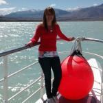 Navegación por el lago Viedma