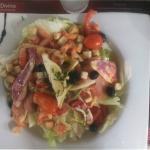 Salade de rougets et queues d'écrevisses