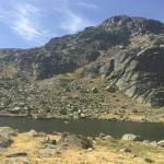 Laguna de peñalara en verano