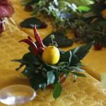 table decoration by Simona