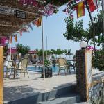 Bar en zwembad