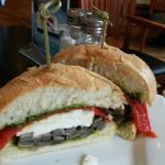grilled portabello mushroom sandwich