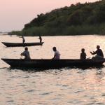 Tanzanian fishermen off Lupita Island