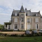 The Chateau-de-la-Villaine upon our arrival