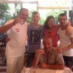 Stefano et son équipe