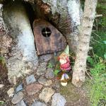 Summit River Lodge: little inhabitant of the forest