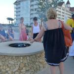Smores at the Beach at the hotel
