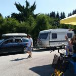 Au revoirs au camping !