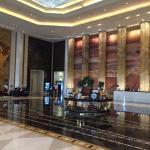 Foyer of hotel