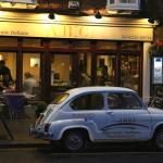 our classic fiat 600 having rest