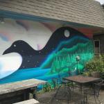 Green Salmon Coffee Shop Foto