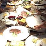 Carnage: How every table should look after a feast of huge proportions - awesome
