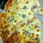 Sausage & Extra Cheese Thin Crust Pizza