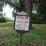 Outside the Midway Museum