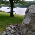Rock at Pleasant Lake
