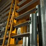 A few of the thousands of pipes which make up the Kotzschmar Organ