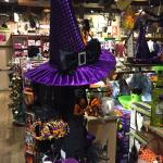 In store shopping for Halloween!