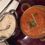 Chicken Tikka Masala and basmati Rice