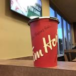 Timmys is a good place for coffee