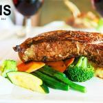 black angus poterhouse steak