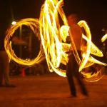 Fire Dancing in Burleigh