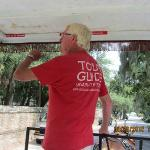 Our tour guide, Bill