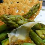 salade d'asperges du pays