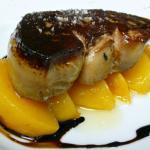 foie gras de canard poêlé aux mangues
