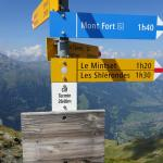 Path to Mont Fort