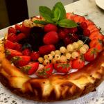 New York cheesecake Milanese grocery store san marco...