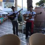 Entertainment at the themed Canarian Evening at the Sahara Playa