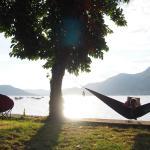 Camping spots direkt am See :)