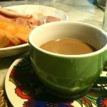 A good breakfast at Isabella's !