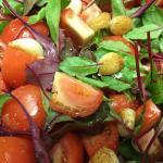 Bocconcini, Tomato & Basil Salad