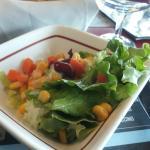 petite salade d'accueil